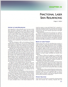 Laser Skin Resurfacing Chapter