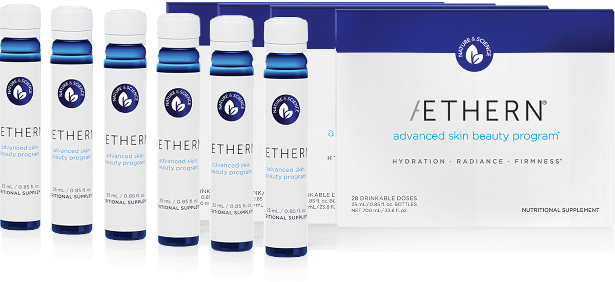 Aethern® Advanced Skin Beauty Program | Drinkable Skincare | Dr