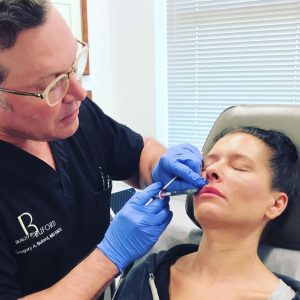 Dr. Buford with Injectables Patient