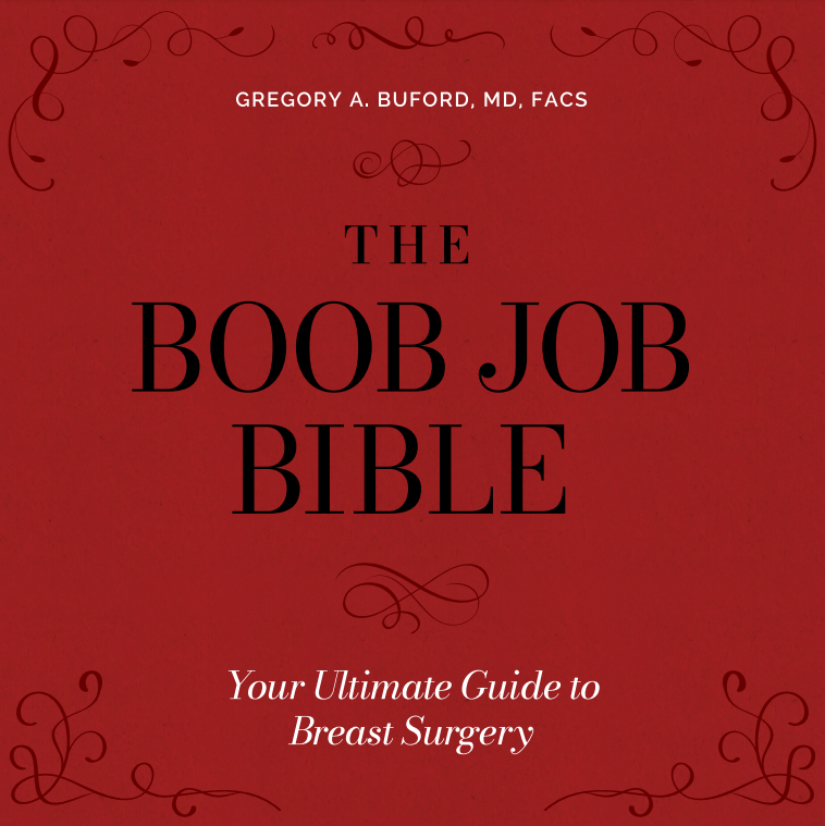 The Boob Job Bible Cover